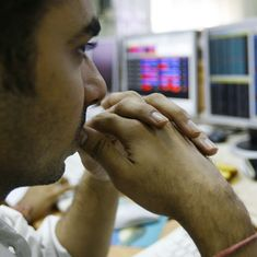 Sensex plunges over 300 points, Nifty slips below 10,300 despite positive GDP growth rate numbers