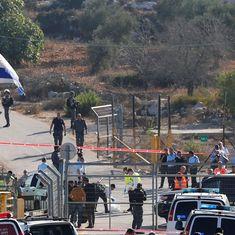 Gunman shoots dead three Israelis near Jerusalem before security forces kill him