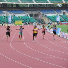 Mohammed Sadath, S Archana win 100m golds, Davinder tops in javelin at Athletics Nationals