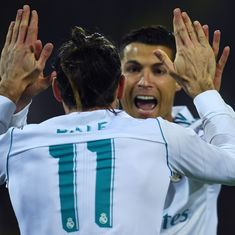 Ronaldo masterminds Real Madrid's 3-1 win against Dortmund, Kane nets hat-trick against Nicosia
