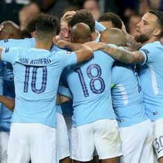 In-form Manchester City extend winning run against Donetsk, Liverpool held to a draw by Spartak
