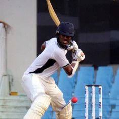 Washington Sundar's all-round show puts India Red on top in Duleep Trophy Final