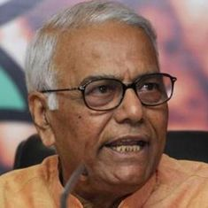 Jammu and Kashmir: Yashwant Sinha alleges he was 'forcibly sent' back to Delhi from Srinagar airport