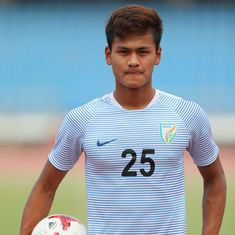 Tall, tenacious, talented: Jeakson Singh, India's first goal-scorer at Fifa U-17 World Cup