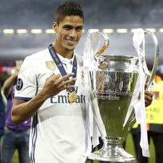 French defender Raphael Varane extends stay at Real Madrid till 2022