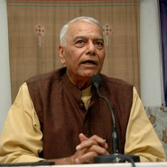 Maharashtra: BJP leader Yashwant Sinha vows to support farmers' strike till demands are met