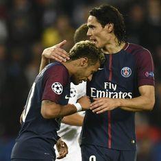 Edinson Cavani and Neymar stay on target as PSG outclass Bayern Munich 3-0