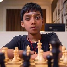 Karthikeyan Murali, Praggnanandhaa in joint second spot in World junior chess after four rounds
