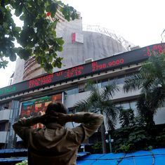 Sensex, Nifty's three-day winning streak ends amid cautious trading ahead of inflation data