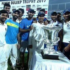 All Duleep Trophy matches except the final  to use red ball, day format due to lack of TV coverage