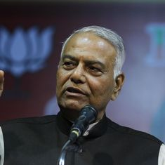 'I am taking sanyas from party politics': Yashwant Sinha quits BJP