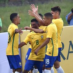 Brazil boys show off their skills and potential in warm-up win ahead of Fifa U-17 World Cup