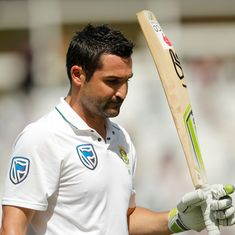 Dean Elgar stars with unbeaten century as South Africa dominate Bangladesh on day one, reach 298/1