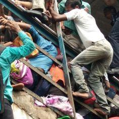 मुंबई में रेलवे स्टेशन पर भगदड़, 22 की मौत