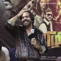 T Rajendar humiliates Sai Dhansika at a press event, reduces her to tears