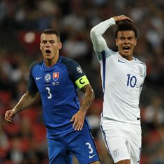 Dele Alli given one-match England ban after middle-finger salute against Slovakia