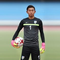 India U-17 goalkeeper Dheeraj Singh leaves for Scotland for trial with Motherwell FC