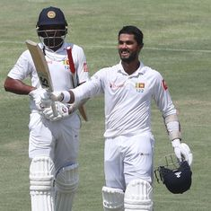 Captain Chandimal stars with an unbeaten 155 against Pakistan on day two of first Test