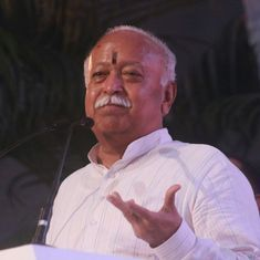 Anybody living in India is a Hindu, says RSS chief Mohan Bhagwat