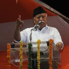 'India is a country of Hindus but it also belongs to others', Mohan Bhagwat tells college students