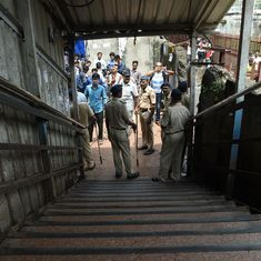 Two weeks after Mumbai stampede, ceiling tile falls on women's head at Elphinstone Road station