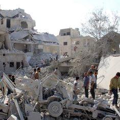 सीरिया में इजरायल में हवाई हमले, 11 की मौत