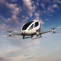 खुद उड़ने वाली दुनिया की पहली टैक्सी के सफल परीक्षण सहित ऑटोमोबाइल से जुड़ी तीन बड़ी खबरें