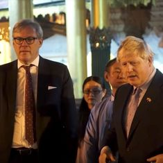 Watch: UK minister Boris Johnson  stopped from reciting insensitive Kipling poem in Myanmar pagoda