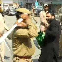 Srinagar: Police baton-charge mourners on Muharram, detain some