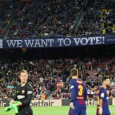 Barcelona's match against Las Palmas to be played behind closed doors amid referendum violence