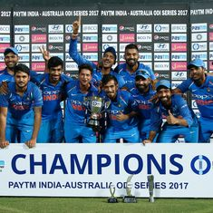 It's a Rohit Sharma masterclass as India complete a 4-1 series win against Australia