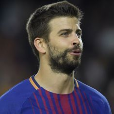 Pique in trouble with Barcelona for role in Griezmann's documentary on Atletico extension