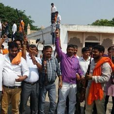 Police book 60 Vishwa Hindu Parishad, Bajrang Dal members for firing in the open near Agra fort