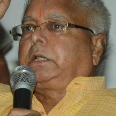 Sonia Gandhi, Mayawati to skip Lalu Prasad Yadav's Opposition rally in Patna on Sunday