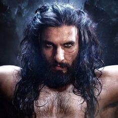 Here is Ranveer Singh as Alauddin Khilji in 'Padmavati'