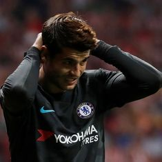 I would sign a 10-year contract: Chelsea's Alvaro Morata denies finding London 'stressful'