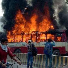 Allahabad: BSP leader shot dead, supporters vandalise public bus, hospital