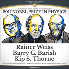 Nobel Prize in Physics goes to three scientists who discovered gravitational waves