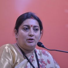 Smriti Irani avoids commenting on harassment claims against MJ Akbar, says women shouldn't be shamed