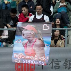 Doping ban doesn't matter: Fans flock to see 'goddess' Maria Sharapova at China Open