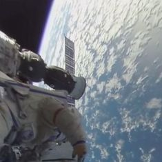 Watch: This space-walk, filmed in 360 degree, is just as breathtaking as you would expect