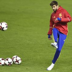 Despite Catalonia backlash, Gerard Pique to continue playing for Spain