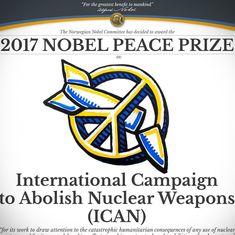 दुनिया को परमाणु हथियार मुक्त बनाने के अभियान को शांति का नोबेल मिलने सहित दिन के बड़े समाचार