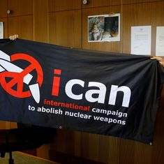 International Campaign to Abolish Nuclear Weapons receives Nobel Peace Prize 2017