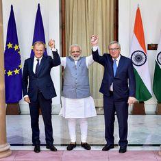 India, European Union pledge to step up cooperation and fight terrorism