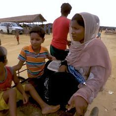 Watch: This film depicts the experience of life in refugee camps for Rohingyas fleeing Myanmar