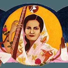 Google marks 103rd birth anniversary of Hindustani classical singer Begum Akhtar with a doodle