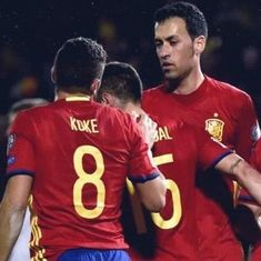 World Cup 2018 qualifiers: Spain seal qualification with 3-0 win, Serbia lose to Austria