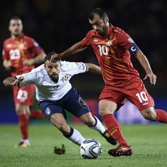World Cup 2018 qualifiers: Italy draw 1-1 against lowly Macedonia, move to play-offs