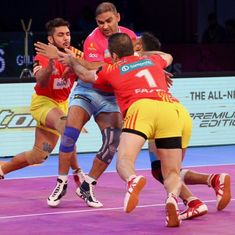 PKL: Fortunegiants edge out Pink Panthers, Warriors beat Puneri Paltan in wildcard match